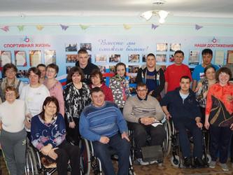 Соревнования в обществе инвалидов г. Артема