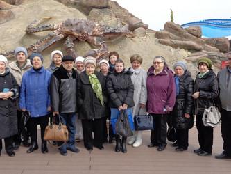 Посещение Приморского океанариума