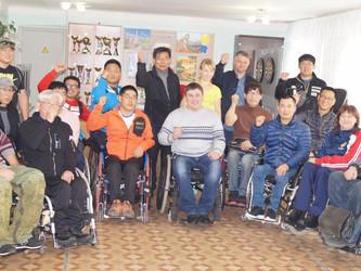 Встреча спортсменов из Южной Кореи