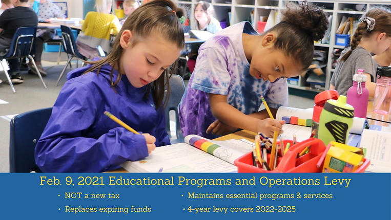 Educational Programs and Operations Levy