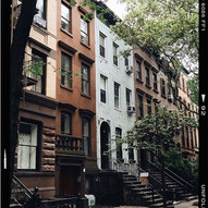 goals_ live in a brownstone but with cur