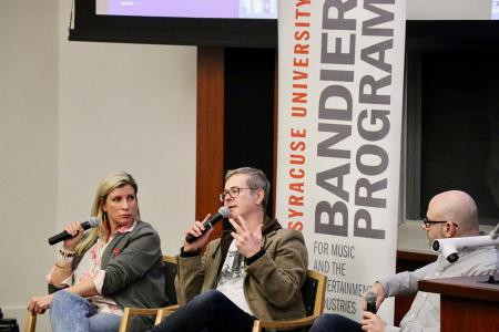 Radio executives visit campus, say radio is stronger than you think