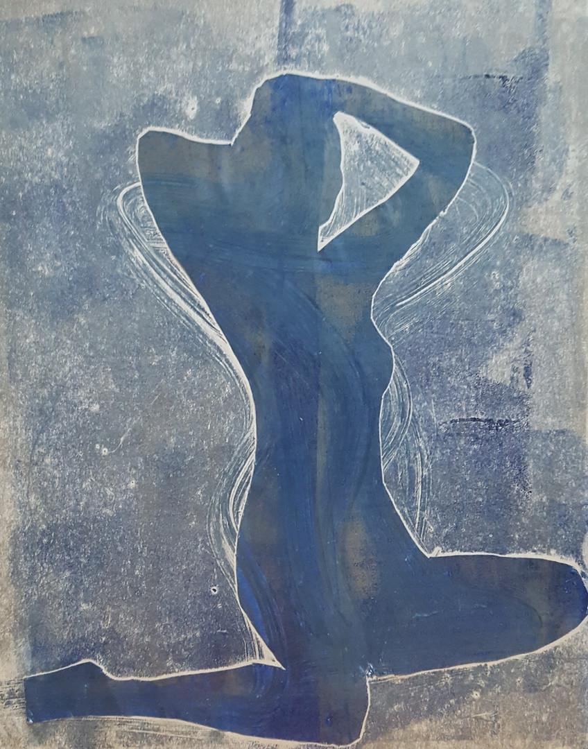 Woman rising 3
