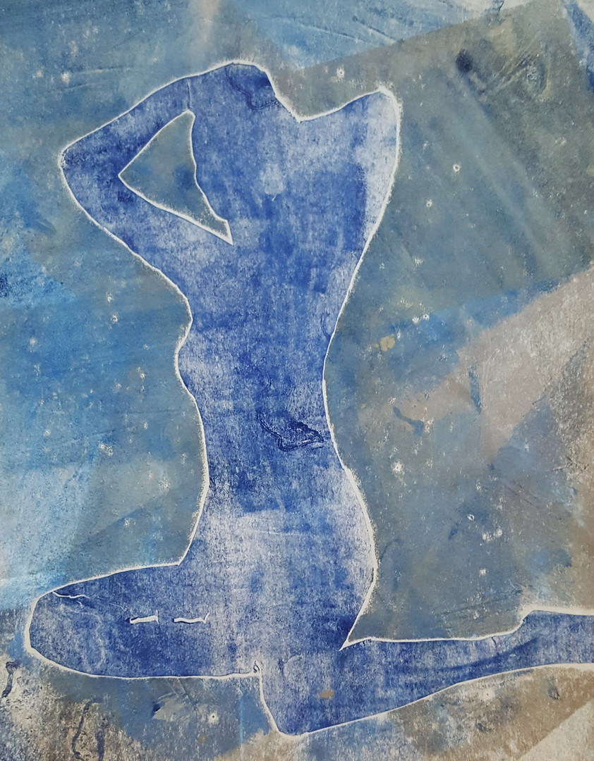 Woman rising 2