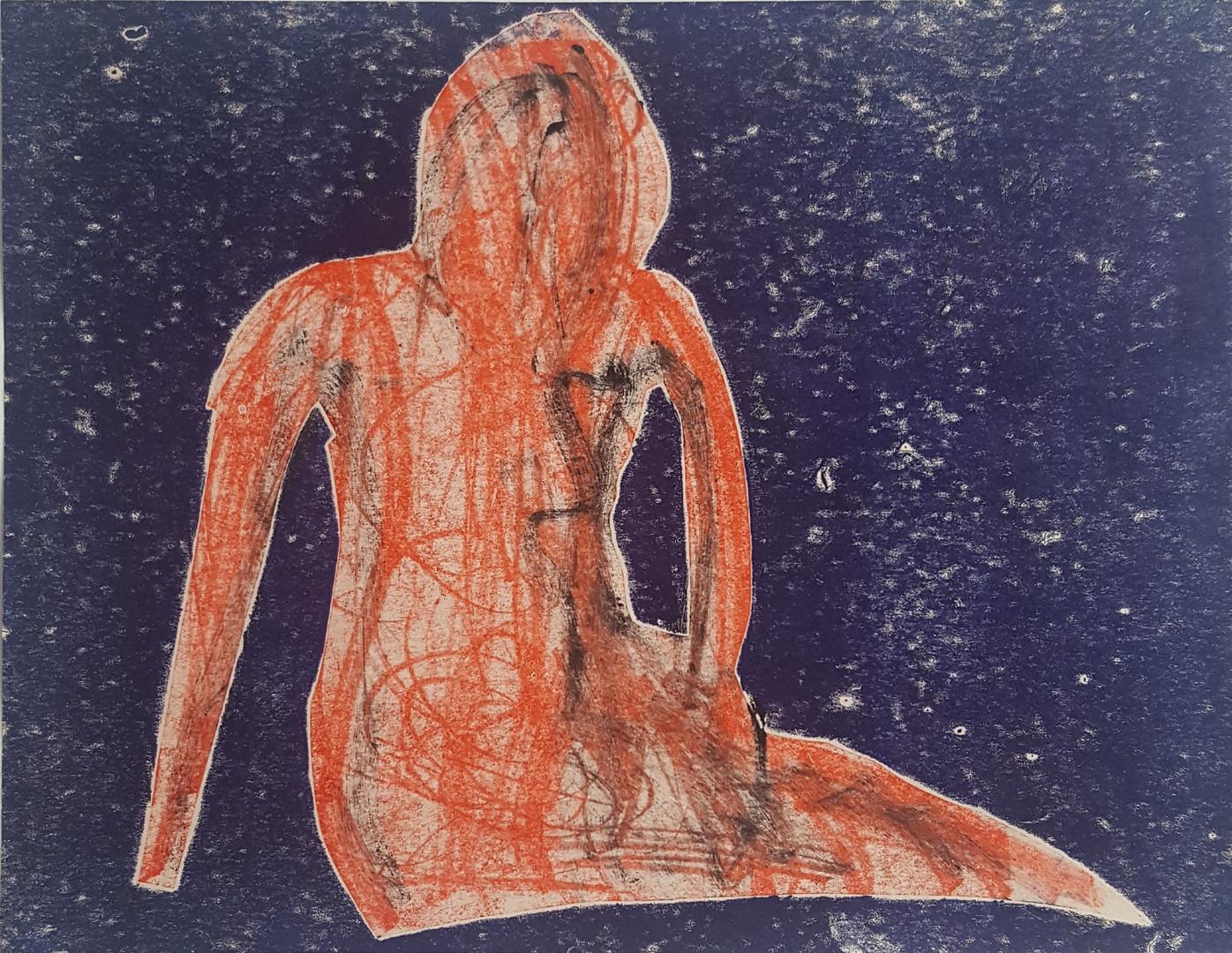 Woman reclining 1