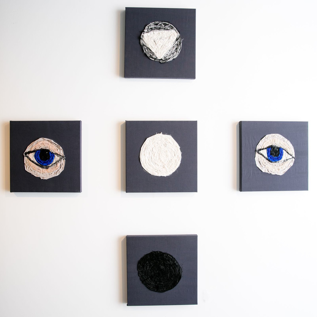 Moon and eye series