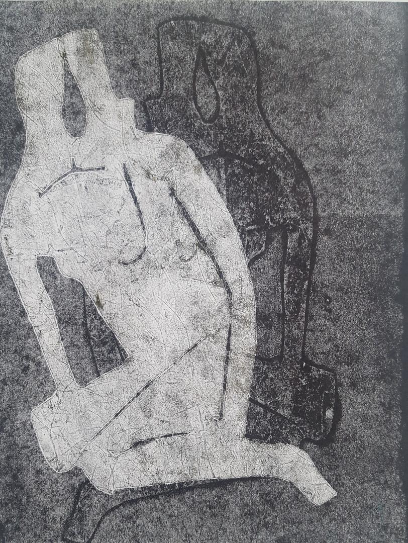 Sitting woman 2