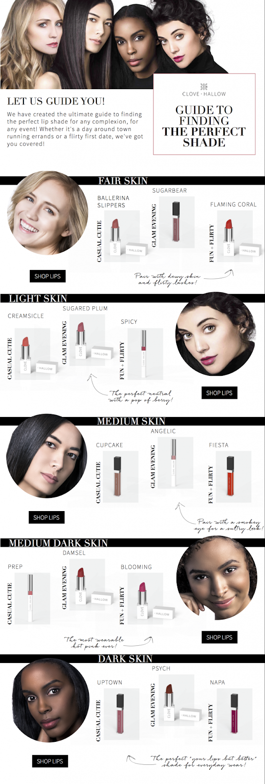 Guide to Finding the Perfect Shade