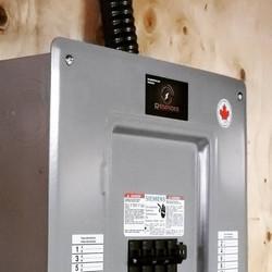 New 200 amp panel in basement