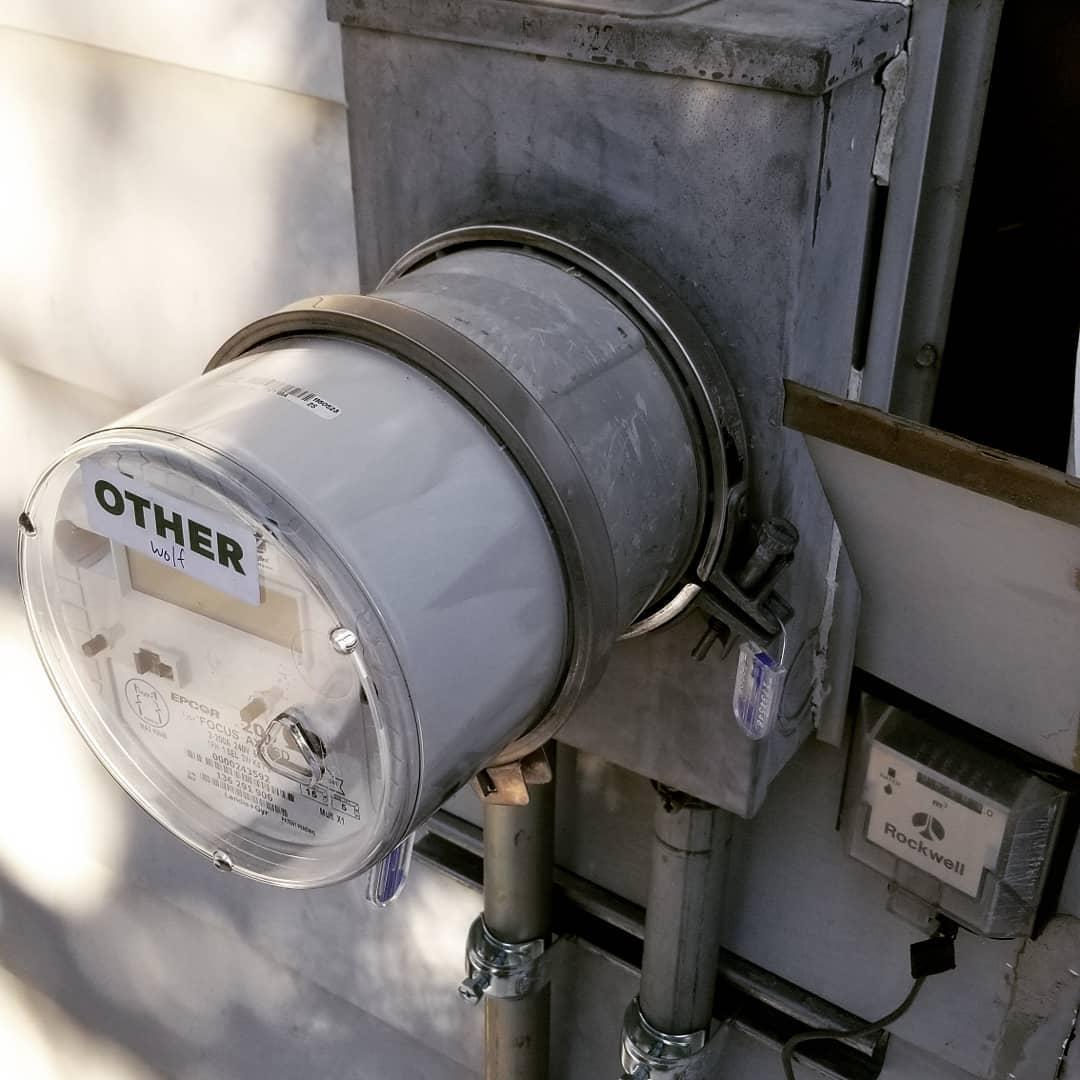 Damaged Meter Temp. Jumber