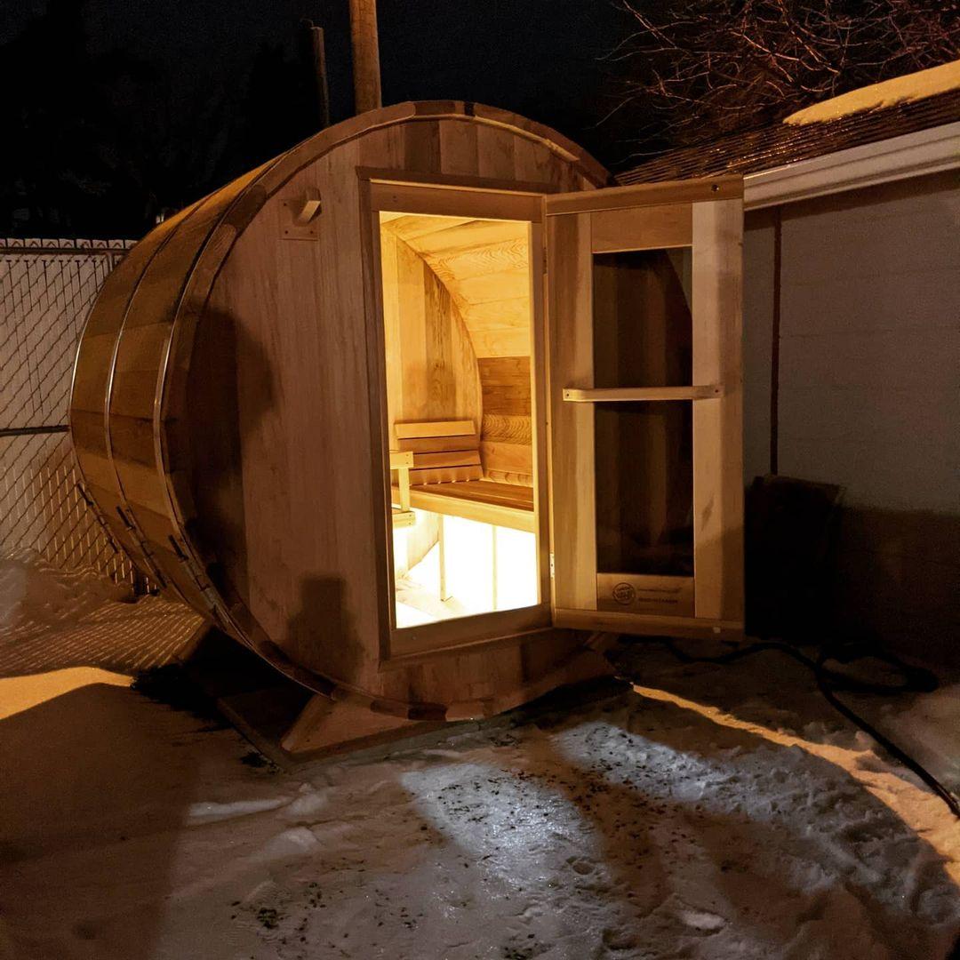 Barrel Sauna Connection