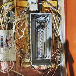 New Panel Installation, Circuitry transfer