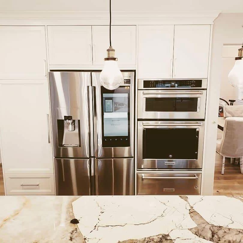 Smart Fridge, Built in Oven, Microwave