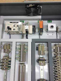 PLC Control Panel Fab