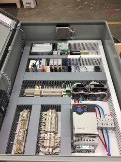PLC with UPS Control Panel For Frack Shack