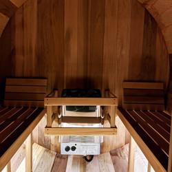 Barrel Sauna Hookup