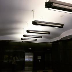The Jasper Main Lobby Lighting Before Upgrade