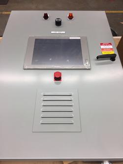 Control Panel with HMI Fab