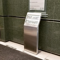 Building Directory Kiosk with Data Services