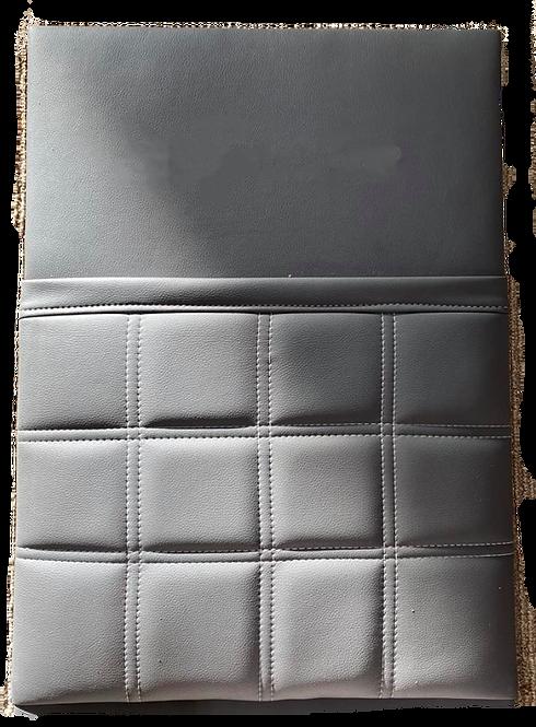 Caravan magazine pocket - Double box stitch