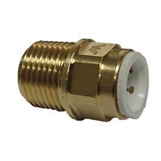 """Brass 12mm x 1/2"""" BSPT Water Mark"""