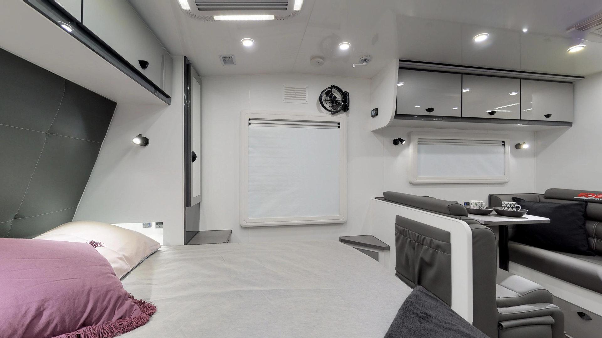 Trackvan XT 22 Built by Eden Caravans