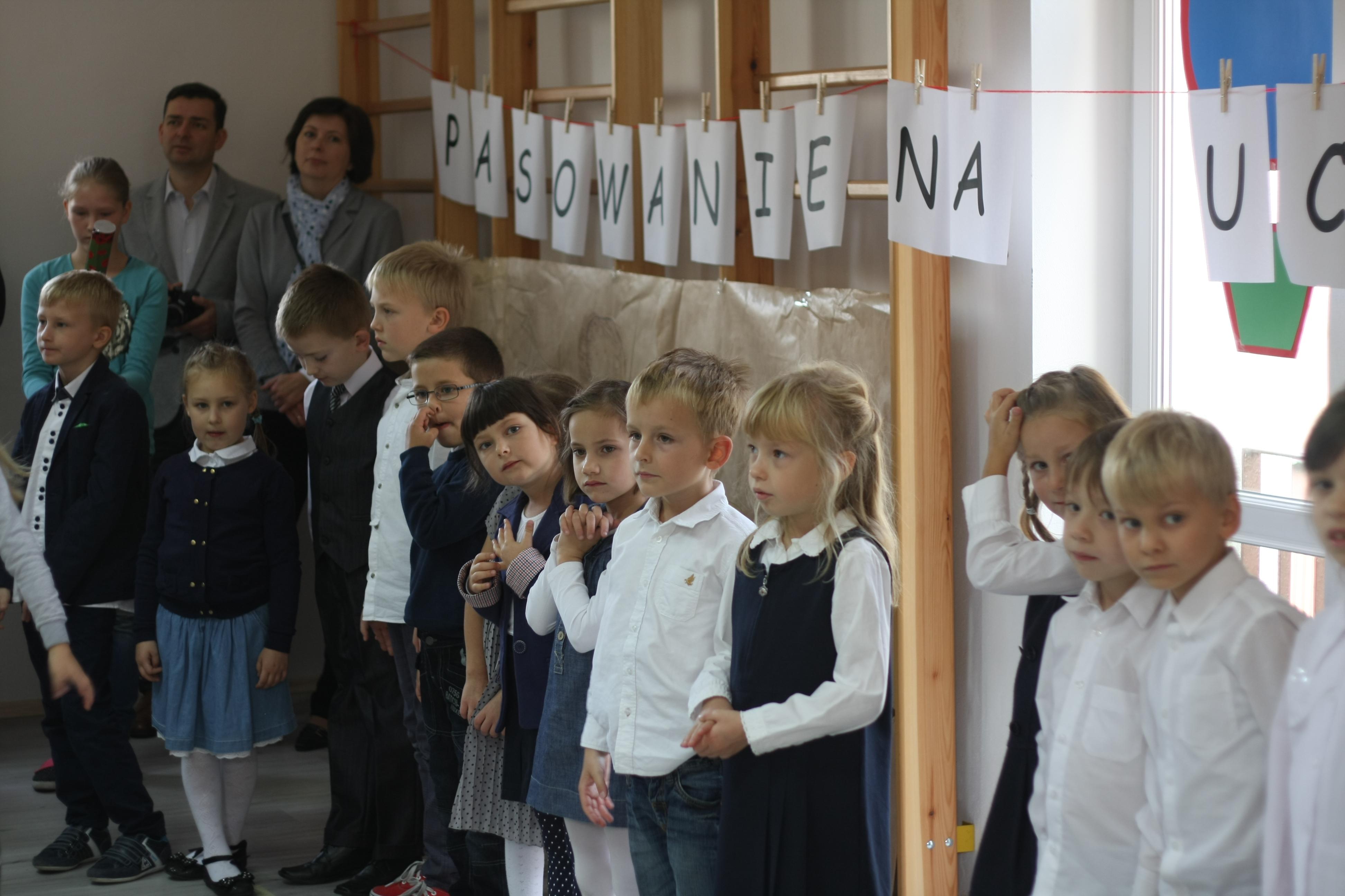 Pasowanie na ucznia klasy I