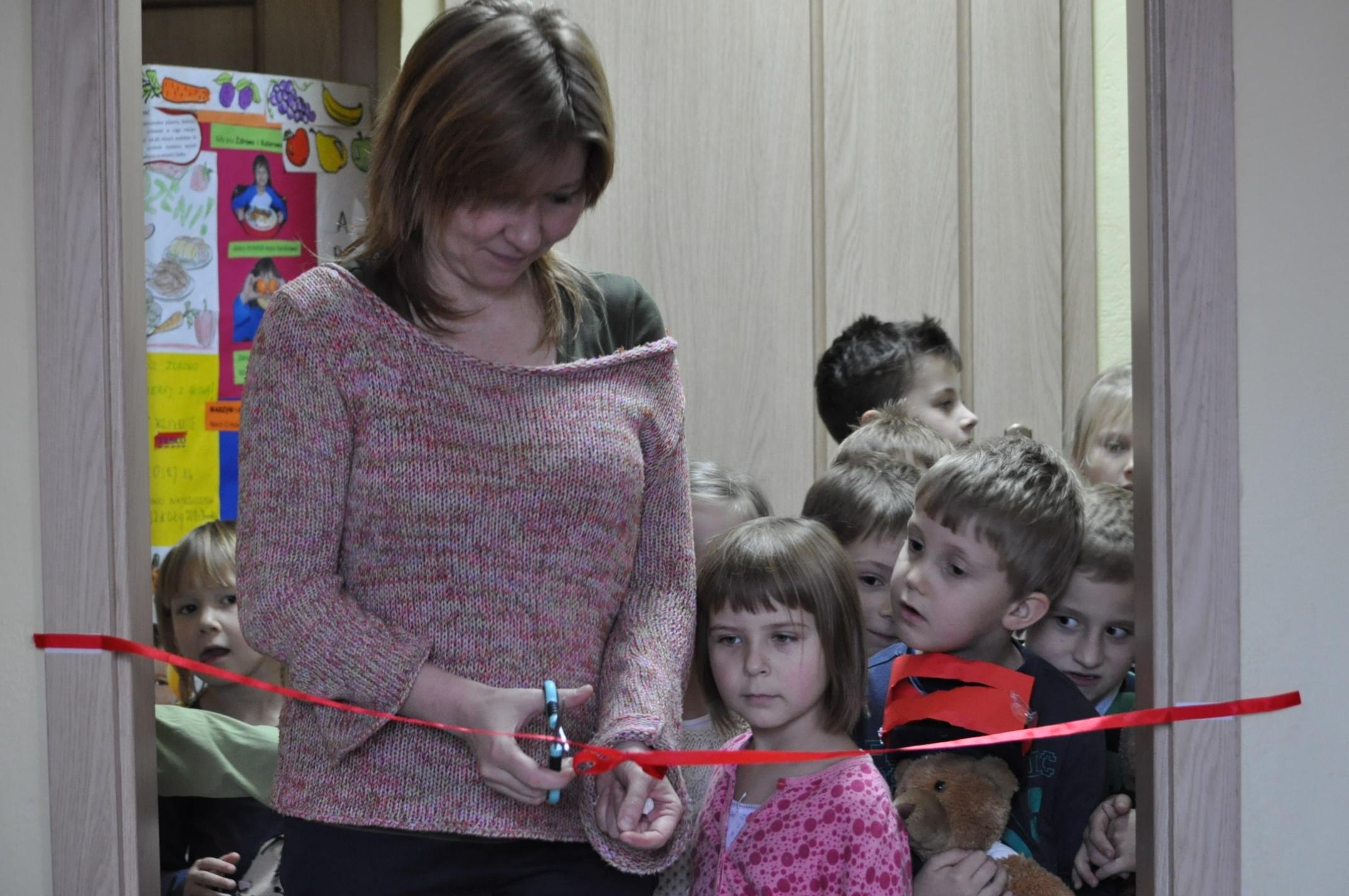 Otwarcie biblioteki szkolnej