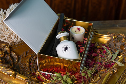 Luxury Gift Box with Diffuser and Candle