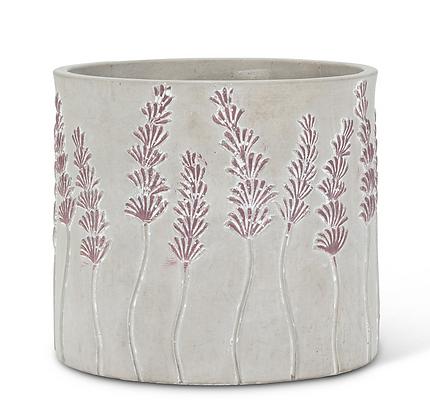Succulent Arrangement in Lavender Planter Arrangement