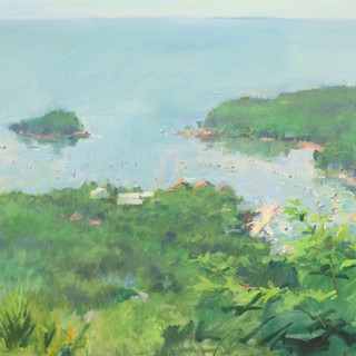 Edgar Reims Camden Harbor 24x30  Oil.jpg
