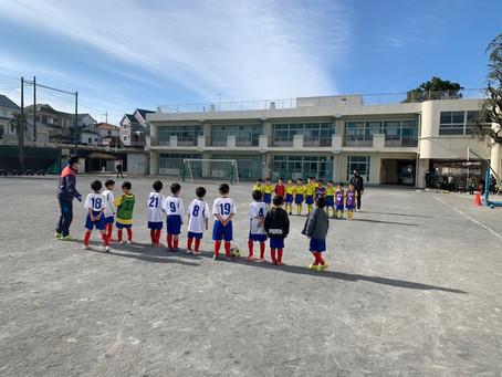 2020.12.20 U8クラス トレーニングマッチ