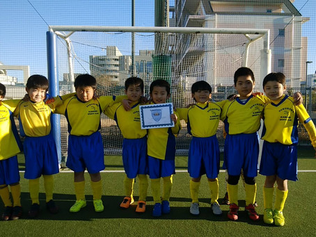 2021.1.10 U7クラス横浜FCカップ