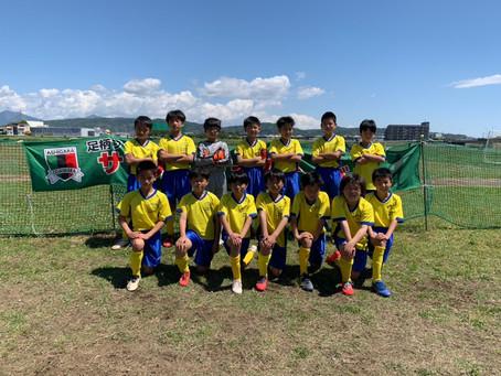 2021.5.2 U12クラス第22回足柄FCフレンズカップ