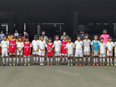 2021.8.29 U12-11クラス トレーニングマッチ