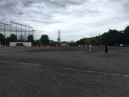 2019.7.6 U11クラス&LUNA トレーニングマッチ