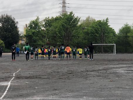 2021.4.17 U12クラストレーニングマッチ