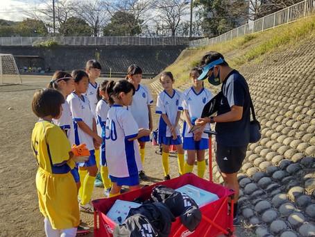 2021.10.10 少女クラス JFA U12リーグ後期 初日