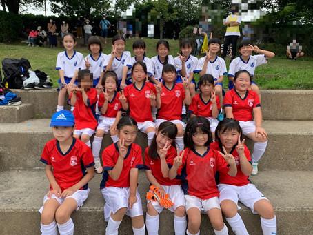 2021.6.26 LUNAクラス 春季緑区サッカー大会少女の部&遠征