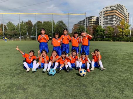2020.11.3 LUNAクラス第7回すずらん少女サッカー大会