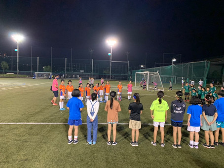 2021.10.3 少女クラス トレーニングマッチ