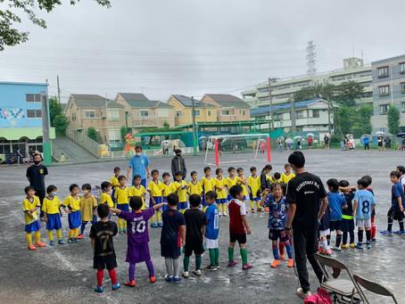 2021.7.4 U7クラス トレーニングマッチ