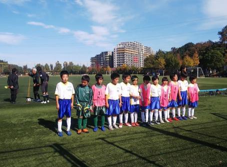 2019.11.17 U10レグルス第51回横浜国際チビッ子サッカー大会準々決勝