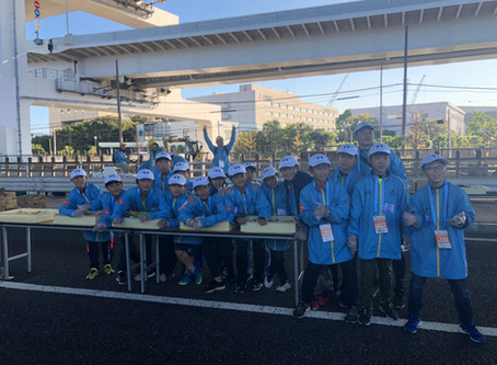 2019.11.10 U12-11 横浜マラソンボランティア