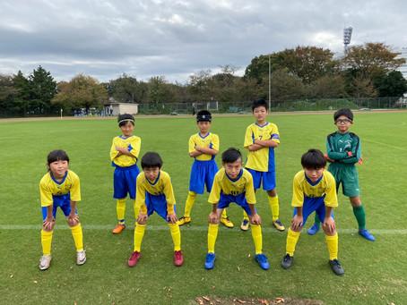 2020.11.1 U10レグルス 第52回国際チビッ子サッカー大会初日