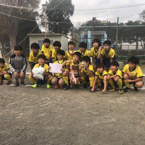 U10クラス2018バード杯優勝!