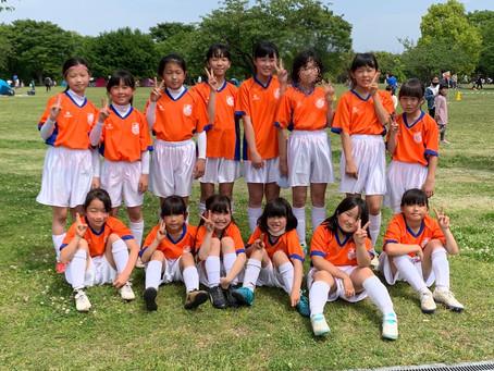 2021.4.25 LUNAクラス 第48回横浜市春季サッカー大会 少女の部 初日