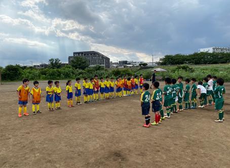 2020.8.1 U10-9クラス トレーニングマッチ