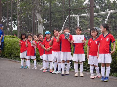 2021.7.11 LUNAクラス 春季緑区サッカー大会少女の部