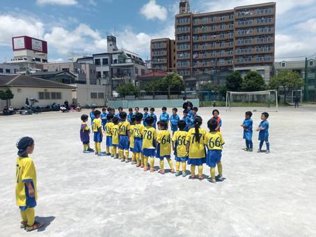 2021.6.12 U7クラス トレーニングマッチ
